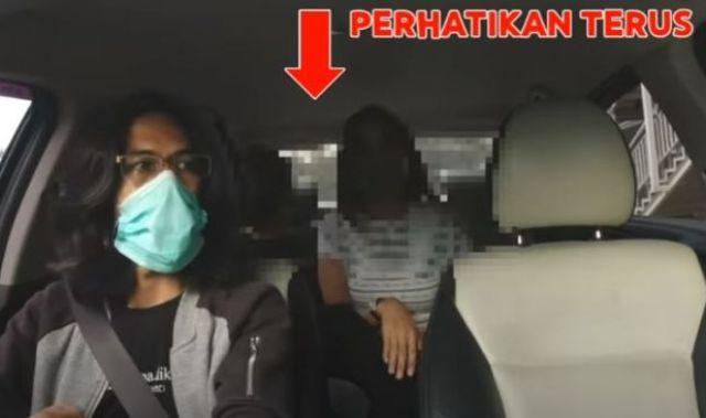 Kepergok Mesum di Taxi Online, Ditegur Sopir, Penumpang : Ini Pacar Saya Loh