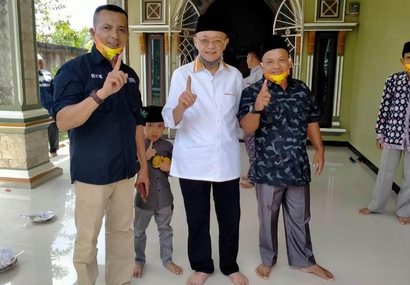 CE dinilai mampu dan miliki kapasitas pemimpin oleh masyarakat Desa Panca Karya, Kecamatan Limun, Kabupaten Sarolangun.