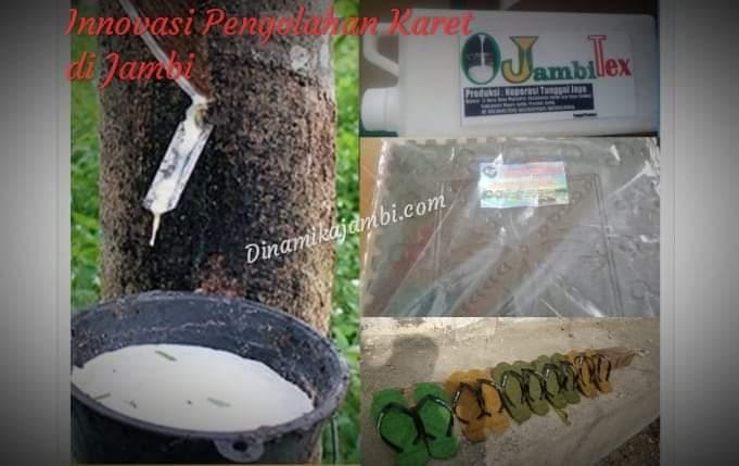 Kabar baik bagi seluruh masyarakat Jambi. Pasalnya, Disperindag Provinsi Jambi, tengah mendorong inovasi baru dari bahan baku karet. Di mana, nanti inovasi ini karet warga di beli dan akan di olah oleh orang Jambi sendiri, menjadi barang produksi siap pasar.