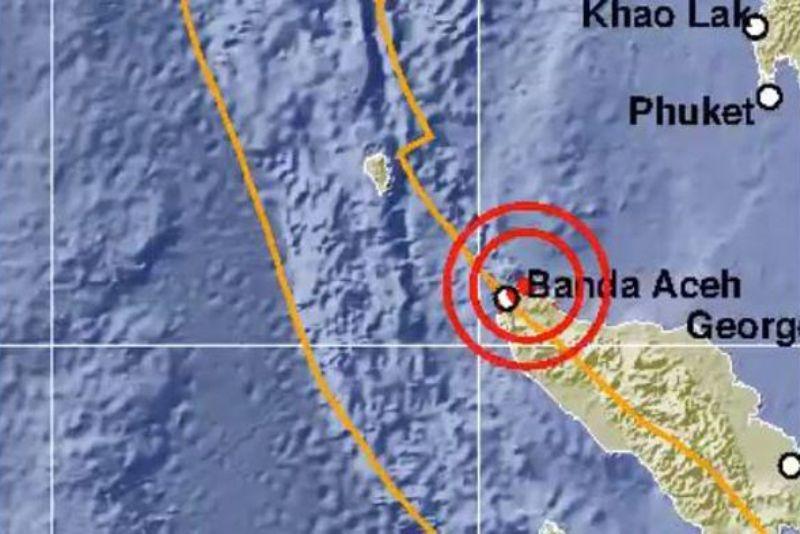 Gempa terkini terjadi di Provinsi Aceh. yang memiliki kekuatan 5,3 SR , dilaporkan oleh akun resmi twitter BMKG, Sabtu (14/11/2020).