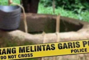 BERITA NASIONAL - Seorang guru ngaji ditemukan dalam keadaan tewas dan bugil di dalam sumur yang tertutup beton, Selasa (03/11/2020).