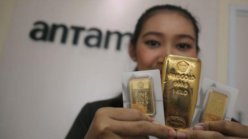 Bagi para pecinta perhiasan emas, mungkin ini adalah kesempatan yang bagus untuk menambahkan koleksinya., harga emas hari ini tak berubah