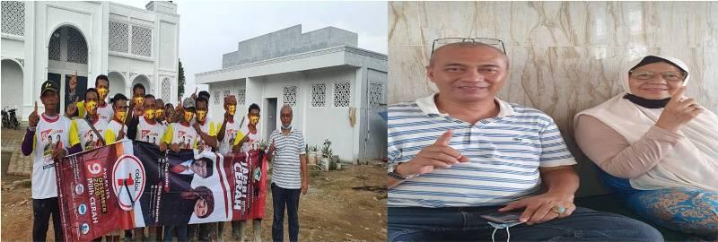 Dukungan kian mengalir kepada Cagub dan Cawagub nomor urut 1 CE-Ratu. Kali ini, Ketua Yayasan Ponpes Tayib Almaki pun turut ikut mendoakan CE-Ratu
