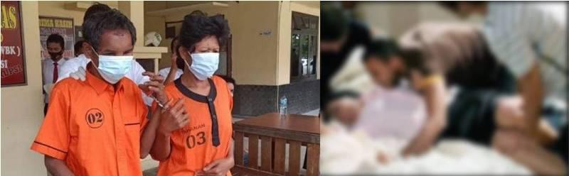 Tawarkan pesugihan, sepasang pasutri culik dan setubuhi gadis di bawah umur. Dikertahui, kejadian ini terjadi di Kabupaten Tebo, Jambi.