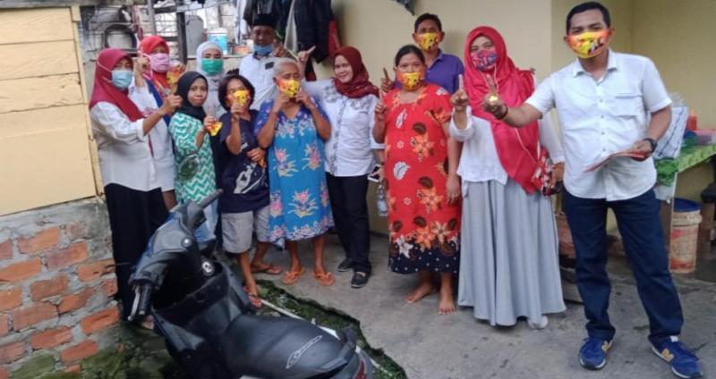 Tim Surya Cerah melakukan kegiatan Door to Door dan jenguk Anak berkebutuhan khusus yang berlokasi di Lebak Bandung, Kota Jambi.