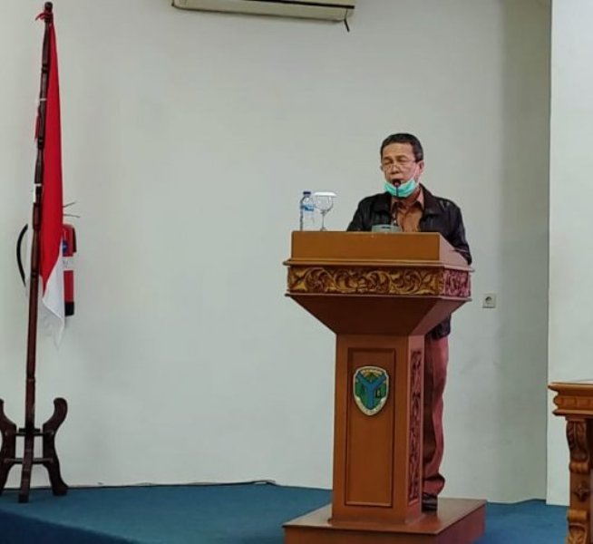 Dalam rangka Penyampaian tanggapan Bupati di rapat Paripurna, Pemkab Batanghri terhadap pemandangan umum Fraksi-fraksi DPRD pada Nota