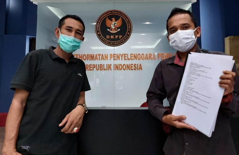 Komisioner Bawaslu Kabupaten Merangin dan Muaro Jambi. secara resmi di adukan ke DKPP RI oleh Masyarakat Jambi, Rabu (30/12/20).
