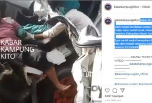 Baru saja terjadi kecelakaan di Jambi, Selasa (22/12/2020) satu orang korban yang di ketahui adalah sang supir terjepit hingga di larikan ke rumah sakit terdekat.