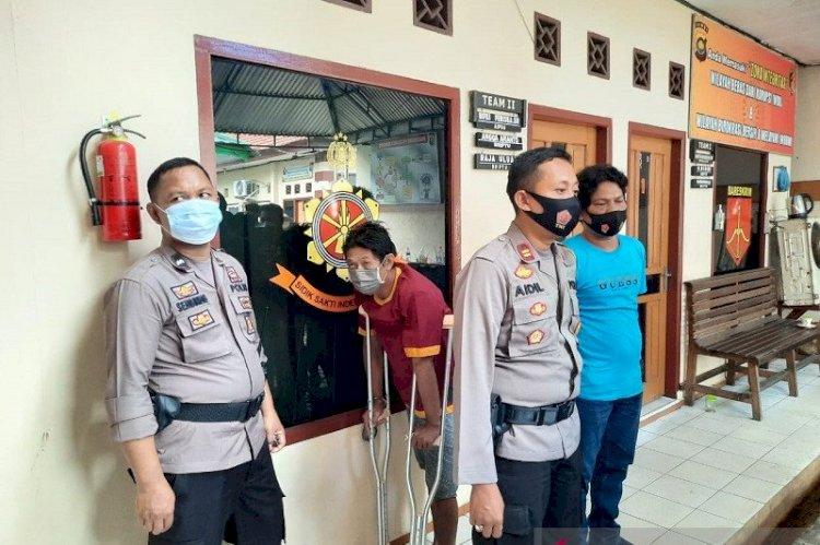Mencuat, ternyata salah satu oknum polisi di Polresta Jambi, terlibat dalam kasus pembobolan ATM Alfamart di Jambi beberapa waktu lalu.