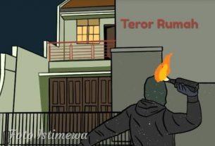 Heboh Teror Rumah Ketua Tim Center Cerah Merangin, Benarkah?