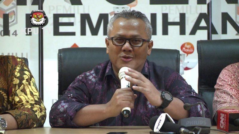 BERITA NASIONAL - Ketua Komisi Pemilihan Umum (KPU) RI, Arief Budiman diberhentikan oleh Dewan Kehormatan Penyelenggara Pemilu (DKPP).