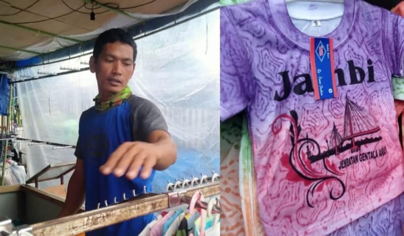 Tak terkecuali bagi masyarakat yang menajajkan dagangannya di Menara Gentala Arasy, yang berada di kawasan pasar Kota Jambi ini.