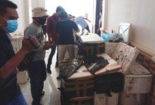 Polres Tanjung Jabung Barat (Tanjabbar), telah berhasil mengagalkan penyeludupan 77 Box Styrofoam berisikan bibit Baby Lobster tepatnya di atas jembatan.