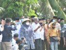 Tak bosan-bosannya berkumpul bersama masyarakat Bumi Sailun Salimbai, Bupati Masnah, kembali hadiri acara sedekahan turun Berumo, Rabu (20/01/2021). Di Desa Senaung, Kecamatan Jambi Luar Kota.
