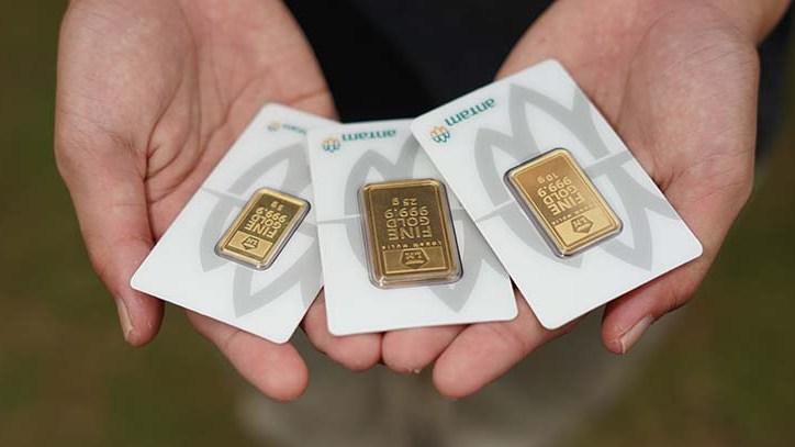 Memasuki pekan keempat di Januari 2021, harga emas terus merangkak naik hal ini terlihat dari hari sebelumnya di Pegadaian, Kamis (21/01/2021).