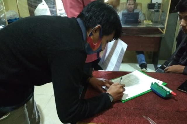 Tindakan kasar dan tak patut di tiru Kades Bertam, berbuntut laporan polisi pada 28 Januari 2021. Hampir sebulan kasus pengusiran wartawan di Muaro Jambi, bagaimana perkembangannya?