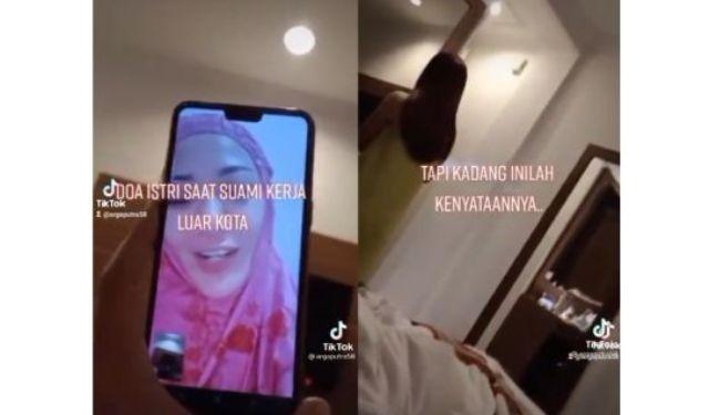 Lagi-lagi jagat maya kembali di hebohkan dengan sebuah video, di mana seorang pria pamer vc dengan istrinya, saat selingkuh dengan wanita lain di kamar hotel. Apa benar?