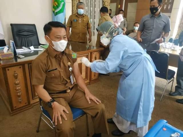 Upaya pencegahan penyebaran Covid-19, lewat Vaksinisasi terus berlanjut di Kota Sungai Penuh.