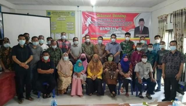 Jaring inspirasi masyarakat, anggota Dewan Perwakilan Rakyat Daerah (DPRD) Kabupaten Tanjung Jabung Barat (Tanjabbar), di setiap komisi Lakukan Reses di Masa Sidang II.