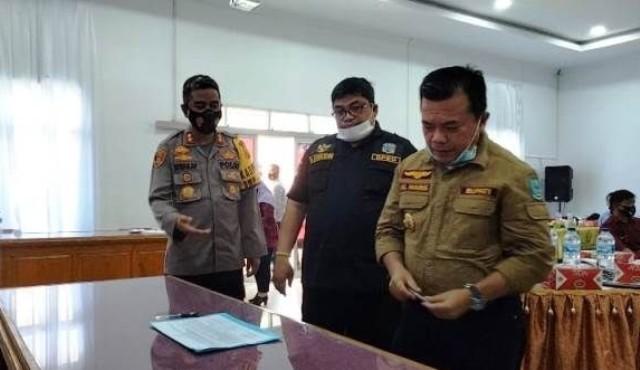 Akibat kegiatan tambang emas illegal atau PETI, alam di Kabupaten Merangin mengalami kerusakan yang sangat parah, Ketua DPRD tawarkan beberapa solusi.