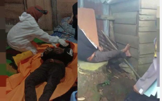 Warga Desa Batu Penyabung Kecamatan Bathin VIII Sarolangun, Jum'at (5/3/2021) di hebohkan dengan penemuan mayat berjenis kelamin laki-laki di belang rumah bidan.