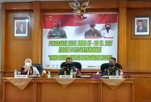 Bupati Muaro Jambi, Hj Masnah Busro ikut hadir dalam kegiatan penutupan TTMD ke 110. Itu artinya, usai sudah program TNI Manunggal Membangun Desa atau TMMD ke 110 tahun 2021 Kodim 0415/ Batanghari.