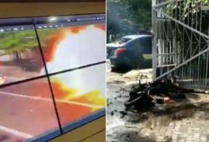 Teka teki pelaku bom bunuh diri, yang tewas di depan halaman Gereja Katedral Makassar, Sulawesi Selatan, perlahan-lahan mulai terungkap.