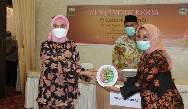 Pj Gubernur Jambi Dr Hari Nur Cahya Murni, kepada pemerintah Kabupaten Sarolangun untuk melakukan pencegahan dan mitigasi bencana.