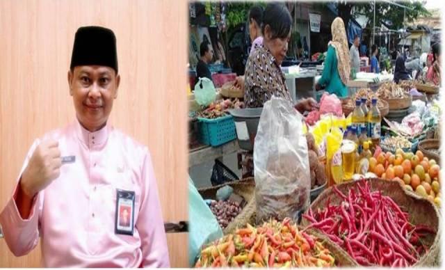 Menghadapi bulan suci Ramadhan, jelang puasa dan Idul Fitri tahun 2021 ini, stok dan ketersediaan bahan pangan pokok di Jambi saat ini aman.