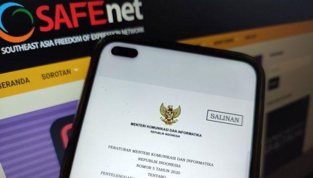 Peraturan Menteri Komunikasi dan Informatika Nomor 5 Tahun 2020 (Permenkominfo 5/2020), tentang Penyelenggara Sistem Elektronik Lingkup Privat, di desak untuk di cabut karena di duga akan berpotensi melanggar HAM, kok bisa?