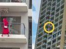 Entah apa yang merasuki wanita ini, diduga demi sebuah konten video, ia nekat menari di balkon hingga jatuh dari lantai 25. Ini pun gegerkan warga setempat.