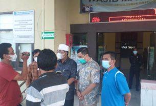 Begitu dapat kabar oksigen pasien habis, Bupati Tanjung Jabung Barat Inspeksi Mendadak alias Sidak RS Daud Arif, Minggu (23/5/2021)
