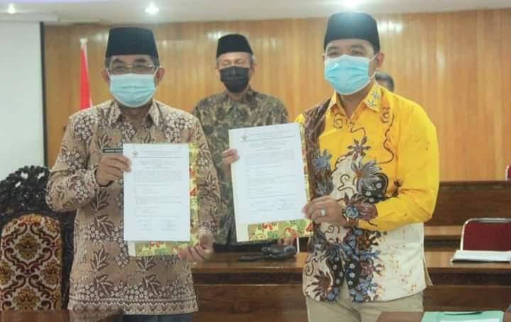 Pemerintah Kabupaten Tanjung Jabung Barat, kembali mendapatkan penghargaan Opini Wajar Tanpa Pengecualian atau WTP, atas LKPD Tahun Anggaran 2020 dari BPK RI.