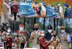 Sejak Presiden Republik Indonesia Ir Joko Widodo, melalui Menteri dalam negeri mengeluarkan surat edaran larangan mudik lebaran, Pj Gubernur Jambi Dr. Hari Nur Cahya Murni melakukan kunjungan di pos perbatasan Jambi-Sumsel.