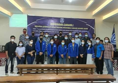 Gerakan Angkatan Muda Kristen Indonesia atau GAMKI, semakin mantap berkiprah di Provinsi Jambi, khususnya di Kabupaten Muaro Jambi.