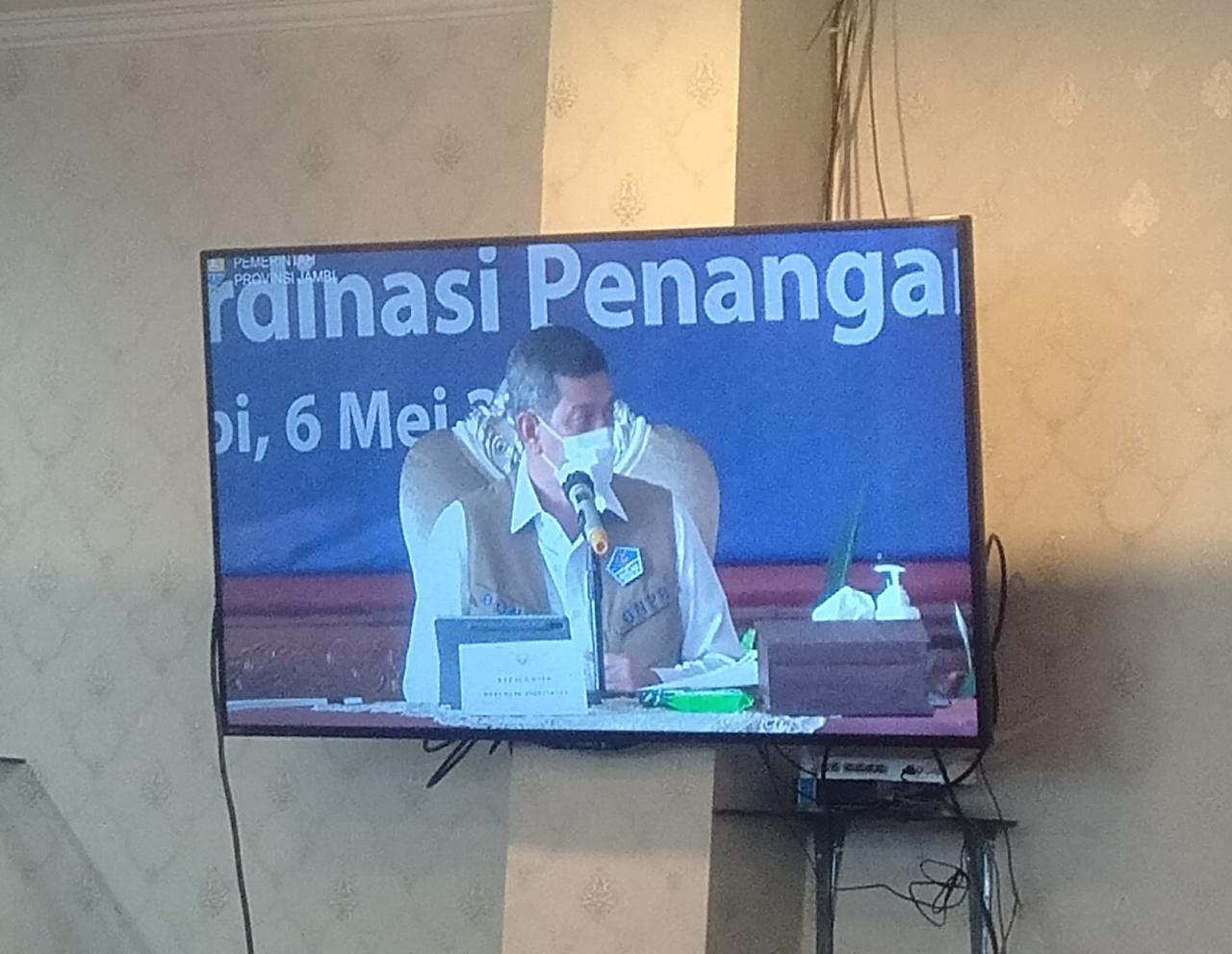 Kedatangan Ketua Satgas COVID-19 Republik Indonesia, atau Kepala BNPB RI Doni Monardo, Pj Gubernur Jambi beberkan banyak hal soal Jambi. Khususnya, soal ruang isolasi.
