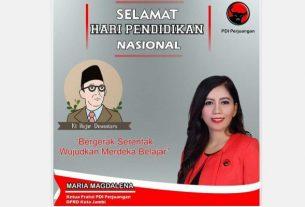 Hari Pendidikan Nasional Jatuh pada 2 Mei, versi komisi VI DPRD Kota Jambi. Diprakarsai oleh Ki Hajar Dewantara, Tokoh Sejarah Pendidikan Indonesia, memberi pesan tersendiri bagi yang memperingatinya.