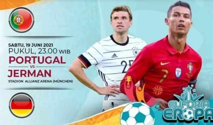 Pertandingan grup F EURO 2021 malam ini, antara Portugal vs Jerman akan menjadi laga hidup mati. Di mana, freekick nanti malam bakal menjadi penentu siapa yang bakal lolos di babak penyisihan.