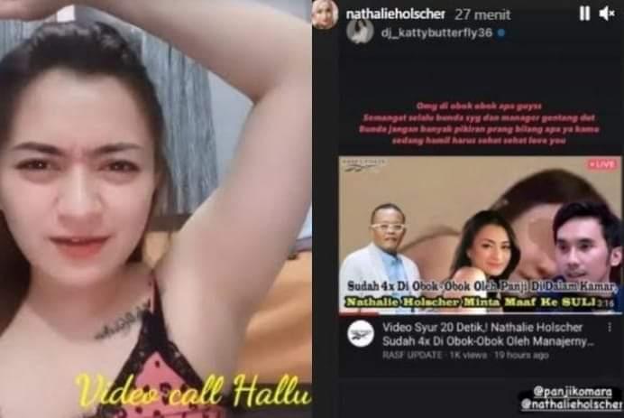 Baru-baru ini beredar video syur 20 Detik, yang menyeret nama istri komedian Indonesia Sule, Nathalie Holscher. Hal ini langsung heboh di media sosial.