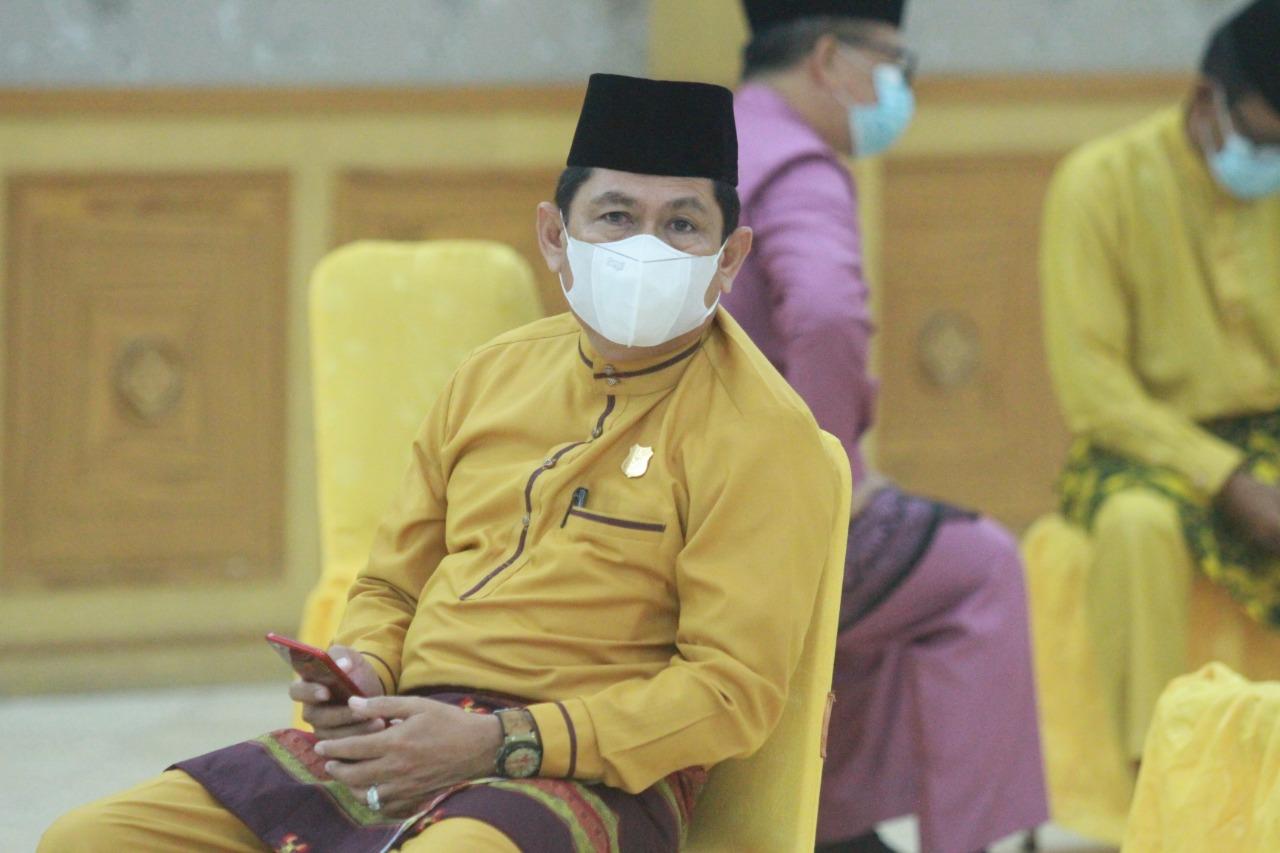Dalam rangka peringati Hari Lahir Pancasila, Ketua DPRD Kabupaten Tanjung Jabung barat, H Abdullah, mengucapkan Selamat yang jatuh pada hari ini, Selasa tanggal 1 Juni 2021.