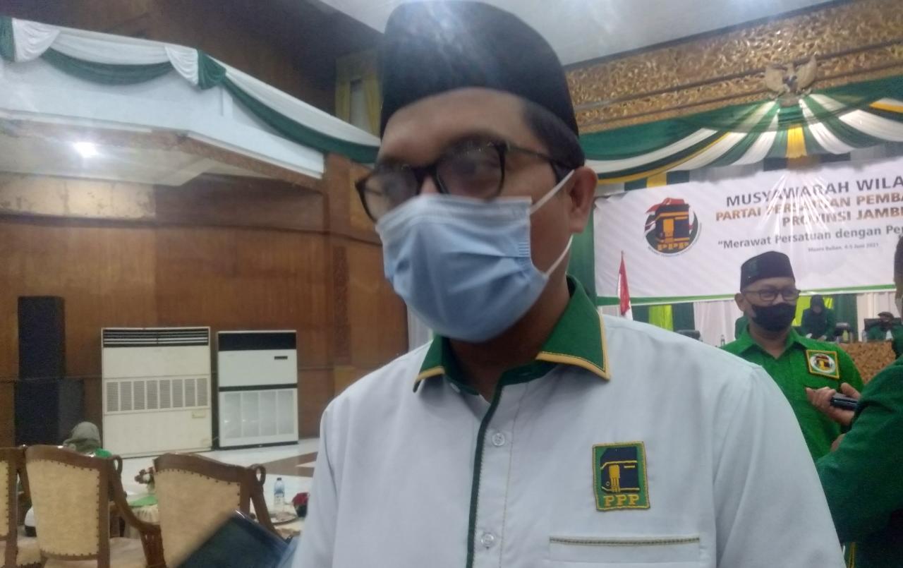 Hadir pada Musyawarah Wilayah DPW Partai Persatuan Pembangunan Provinsi Jambi. Achmad Baidowi, Wakil Sekretaris Jenderal DPP PPP sentil soal peta politik Pilpres 2024.