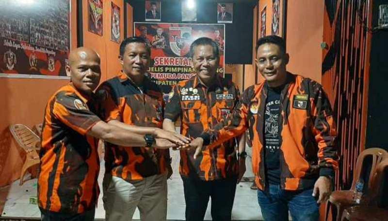 Ketua Majelis Pimpinan Wilayah (MPW) Pemuda Pancasila Provinsi Jambi Adri SH MH Minggu malam (06/06/21) Kunker ke MPC PP Sarolangun.
