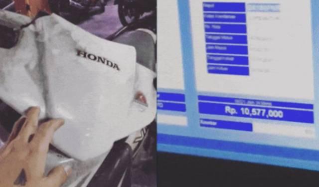 Sebuah video viral beredar di Medsos, dimana seorang pemuda parkir motor selama 3 tahun. Tak tanggung-tanggung biaya tagihannya pun mencapai Rp. 10 juta.