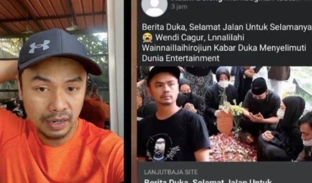 Baru-baru ini beredar sebuah video viral di Media sosial TikTok dan Facebook. Kabar di video tersebut menyebutkan, bahwa komedian Indonesia Wendi Cagur meninggal dunia. Begini Faktanya.