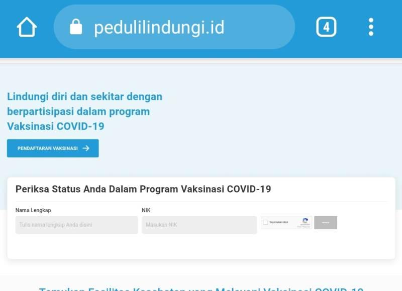 Sudah ikut vaksin ke 1 tapi belum ada sertifikat? Coba cara cek dan download lengkap sertifikat vaksin pertama di PeduliLindungi.id