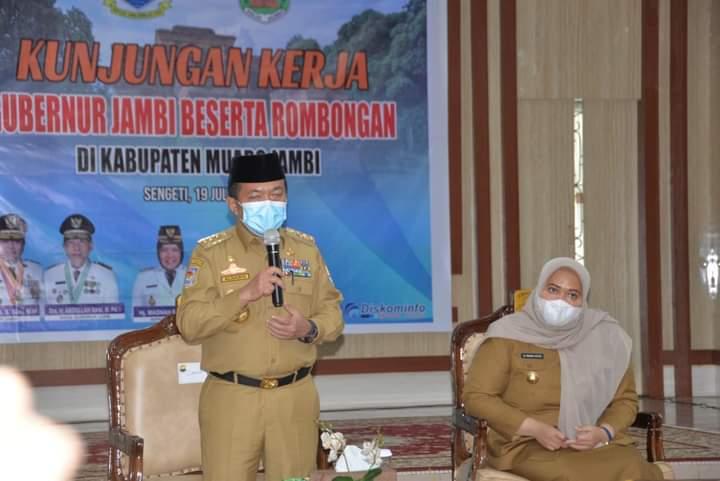 Gubernur Jambi Al Haris, mengharapkan Kabupaten Muaro Jambi bukan sebagai Kabupaten penyangga bagi Kota Jambi, tetapi sebagai daerah pertumbuhan baru bagi ekonomi Provinsi Jambi.