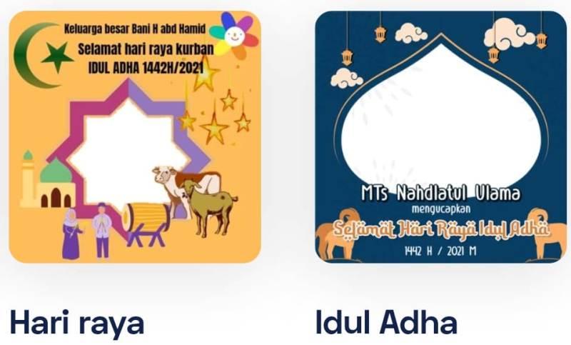 Hari raya Idul Adha lebih meriah, meski dengan pembatasan. Ramaikan dengan Link download Twibbon Ucapan Idul Adha 2021 atau dalam artikel ini.