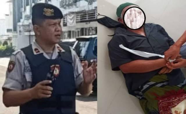 Polisi membeberkan penyebab jamaah, seorang pria meninggal dunia saat sholat jumat di masjid Al Mukhlisin, Kelurahan Cilendek Timur, Kecamatan Bogor Barat, Kota Bogor, Jumat (9/7).