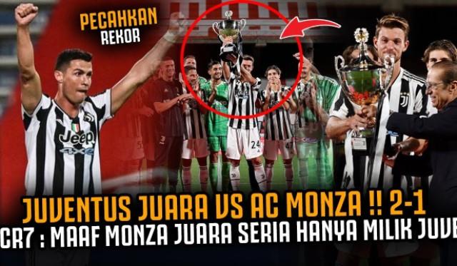 Saat laga AC Monza vs Juventus dini hari tadi, sang nyonya tua berhasil menang tipis dari lawannya. Meski tanpa Cristiano Ronaldo, Bianconeri berhasil unggul 2-1.