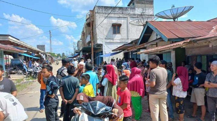 Warga Pamenang khususnya, di wilayah Pasar Pamenang, Kamis (9/9/21) siang geger dengan temuan mayat dalam rumah.